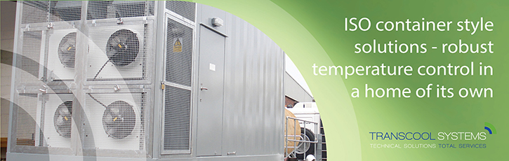 ISO container style solutions – robust temperature control in a home of its own